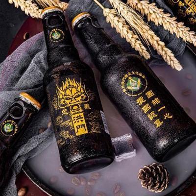 89818/【抖音快手网红啤酒】忠义洪门精酿全麦啤酒整箱全麦
