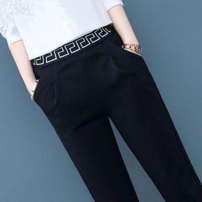 巨厚510克羊羔绒外穿修身保暖长裤冬季新款女士打底加绒加厚大码
