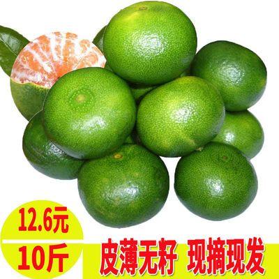 【超新鲜包邮】橘子新鲜蜜桔青皮桔子薄皮柑橘孕妇水果整箱10斤
