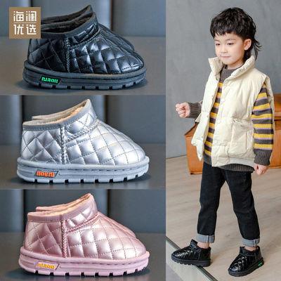 91652/海澜优选冬季新款儿童雪地靴男女童保暖棉鞋加绒洋气百搭外穿短靴