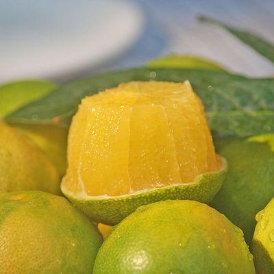 云南哀牢山冰糖橙子新鲜应季水果手剥青皮橙夏橙整箱高山薄皮甜橙