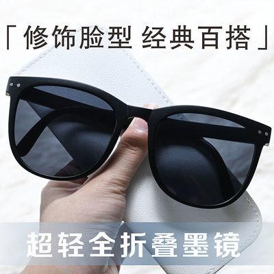 92877/男款偏光折叠墨镜时尚男士太阳镜硬汉眼镜男户外防紫外线驾驶镜