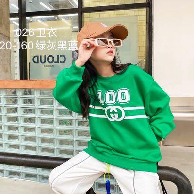【韩版宽松!请勿拍大】女孩卫衣2021新款秋装6-13岁洋气女童长袖