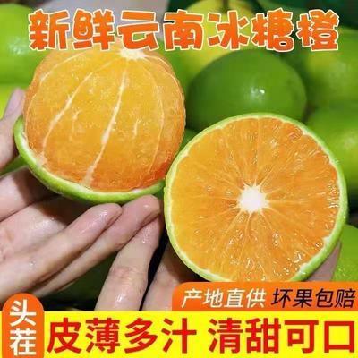 云南玉溪哀牢山冰糖橙当季水果绿皮超甜皮薄多汁新鲜现摘基地直发