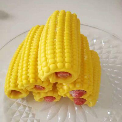 93004/家庭装热狗卷玉米型儿童速食营养早餐卡通馒头网红主食速食早餐