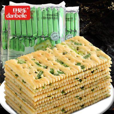 旦贝乐苏打饼香葱味饼干500g咸味无加蔗糖休闲零食早餐饱腹梳打