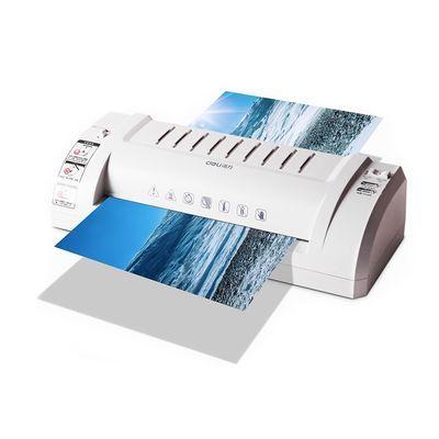 89707/得力照片塑封机A3办公家用相片过塑机A4通用过胶机小型热塑机