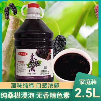 微醺桑葚水果酒桶装2.5L低度8度高度28度自酿浸泡型精酿果酒果酒