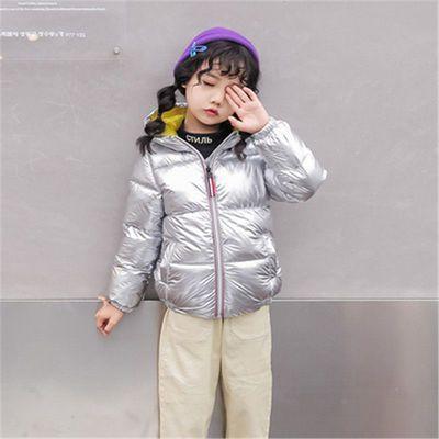 93371/秋冬季儿童亮面免洗男童女童白鸭绒外套中大童加厚洋气羽绒服外套