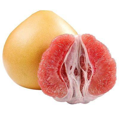 2柚子红心蜜柚红心柚红肉薄皮柚子小西红柚子红心柚子批发价