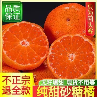 93319/【爆甜多汁】广西沙糖桔爆甜金秋砂糖桔橘子水果新鲜桔子非皇帝柑