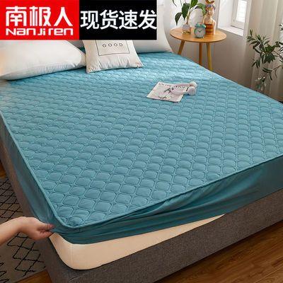 南极人夹棉纯色床笠床罩加厚防滑固定床垫套罩席梦思保护套防尘罩