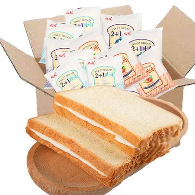 山牛吐司面包早餐亿成夹心吐司乳酸菌面包片蛋糕零食批发整箱