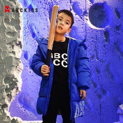Abckids童装2021年新款加厚羽绒棉棉服时尚保暖棉衣休闲宽松韩版