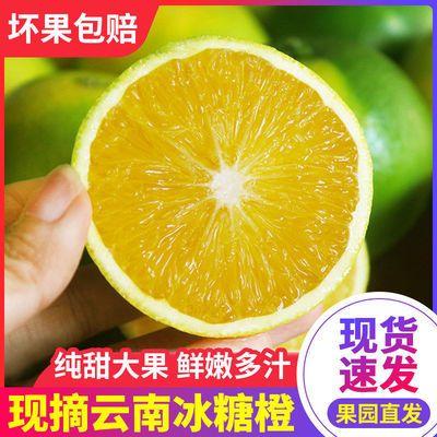 93365/橙子冰糖橙超甜 冰糖橙子橙子榨汁专用 橙子当季橙子整箱批发薄皮