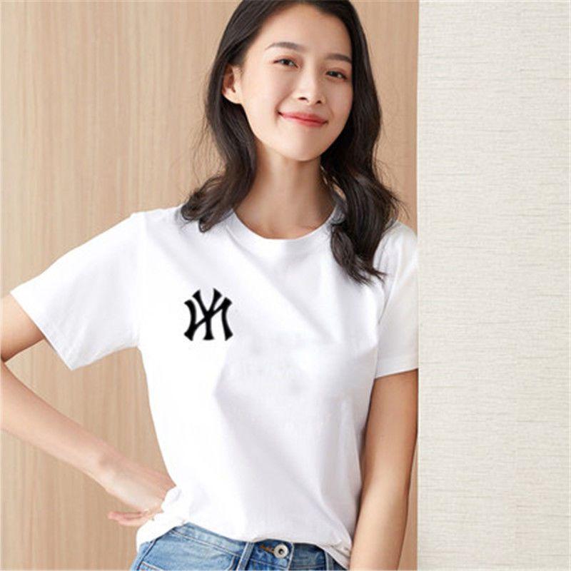 纯棉白色T恤女装打底衫宽松韩版夏季新款2020年短袖网红超火ins潮