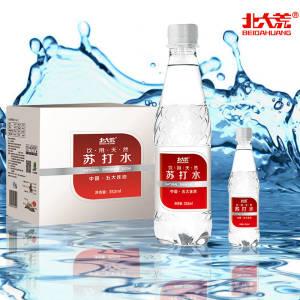 临期特价,上市企业:352mlx24瓶 北大荒 天然无糖苏打水