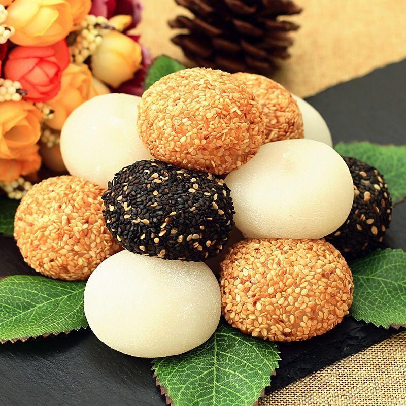 闽南传统特产糕点汤圆糯米麻薯办公小零食