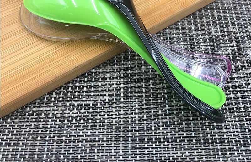 【一次性勺子独立包装】透明加厚塑料汤勺商用外卖打包小勺子调羹批发