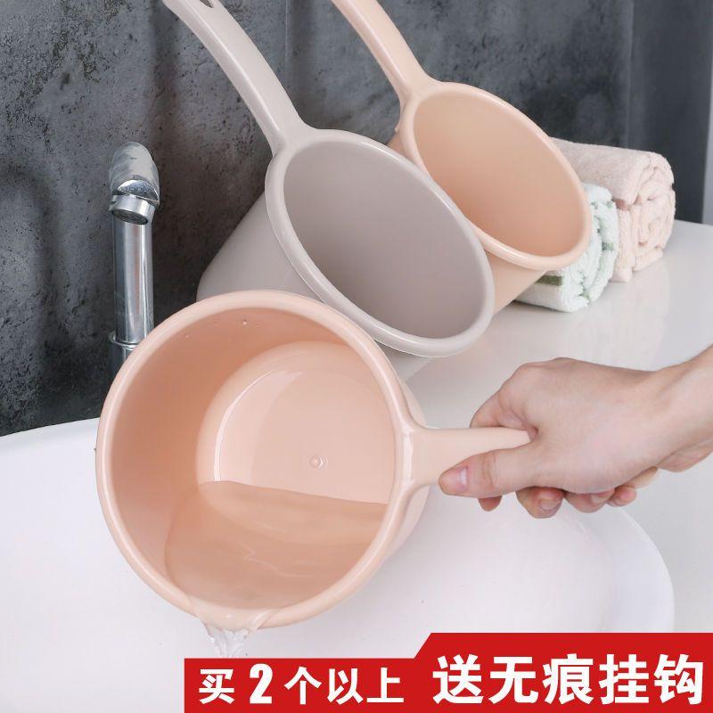 加厚加大水瓢水勺家用长柄舀水厨房水舀宝宝洗澡沐浴洗头勺