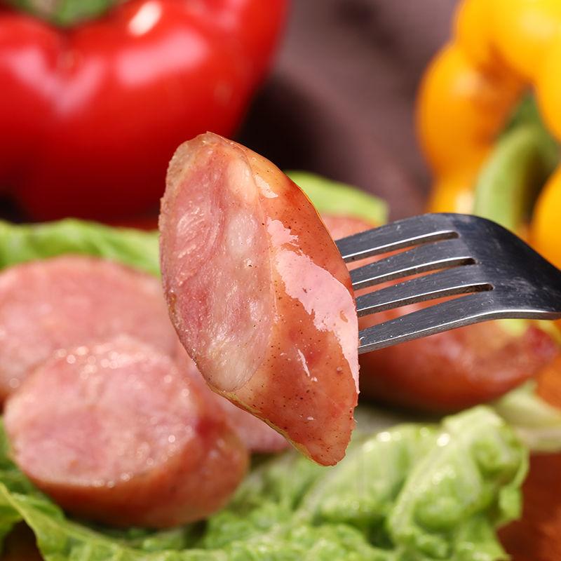 纯肉肠火山石烤肠台湾风味热狗肠地道肠香肠烧烤肠早餐厂家批发