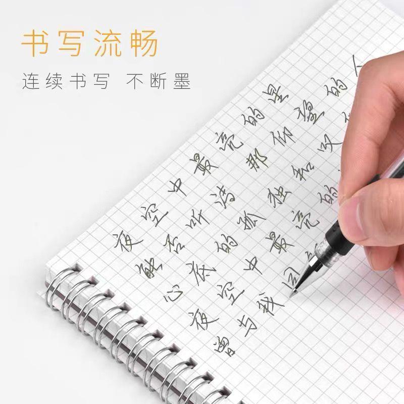 54242-20支商务办公签字笔中性笔学生考试水笔碳素笔0.5mm圆珠笔针管笔-详情图