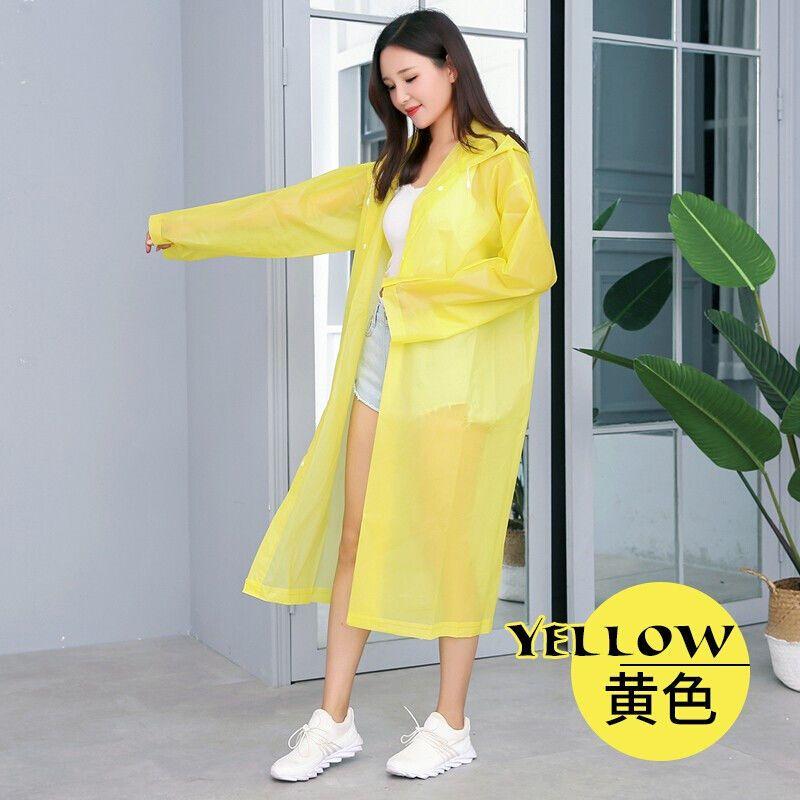 非一次性雨衣女成人韩国时尚徒步青年男女便携户外雨披