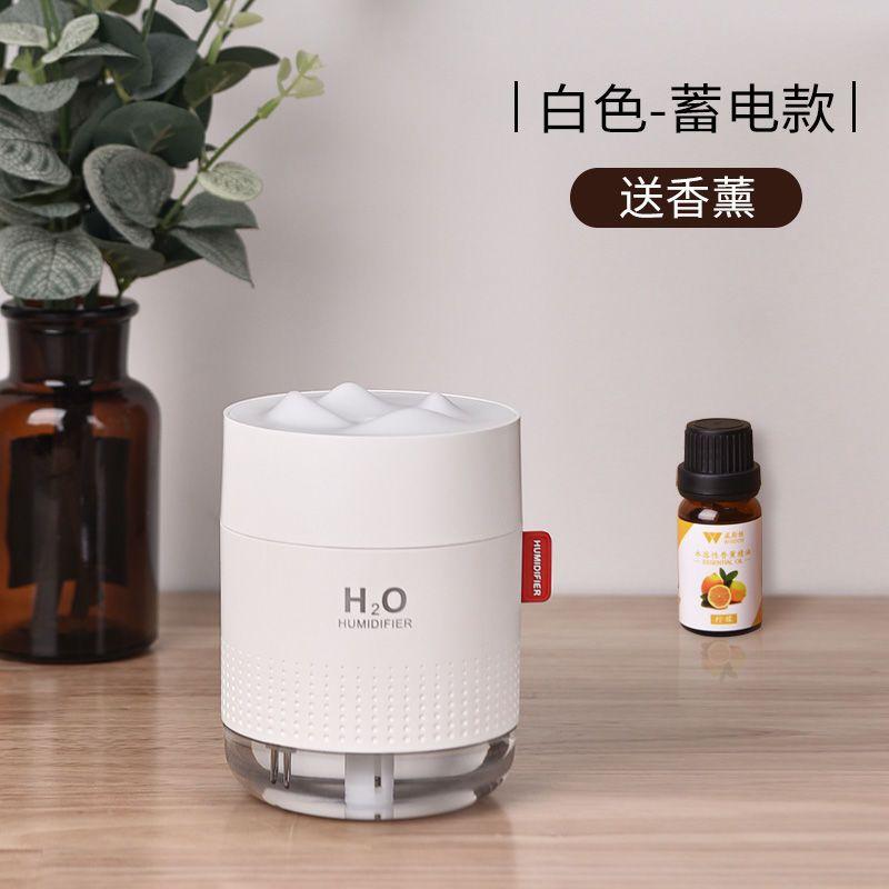 2021加湿器家用卧室小型迷你静音充电大雾量空气净化孕妇婴儿香薰