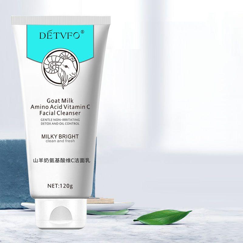氨基酸祛痘泡沫洗面奶深层清洁毛孔控油