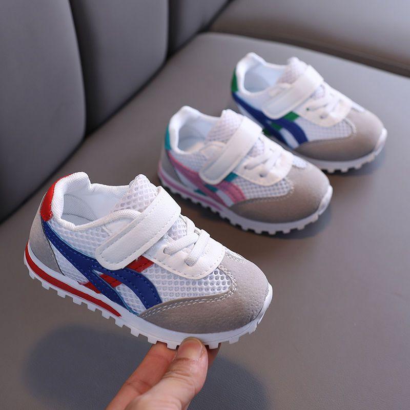 夏季透网1-3-6岁男童运动鞋小童韩版女童宝宝软底婴幼儿学步鞋子