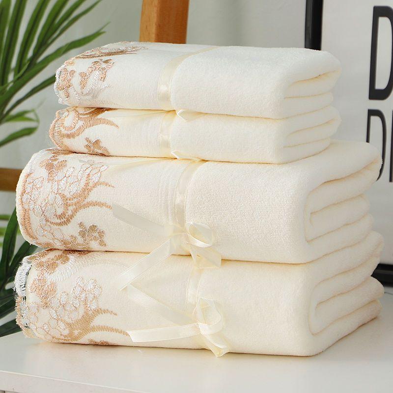 毛巾/浴巾/套装比纯棉更柔软强吸水男女成人儿童通用洗脸洗澡批发