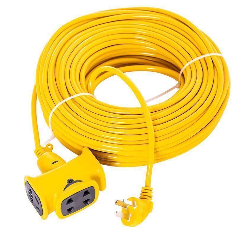 防爆耐摔5-40米延长线插座排插电动车充电线插排地拖接线板插线板