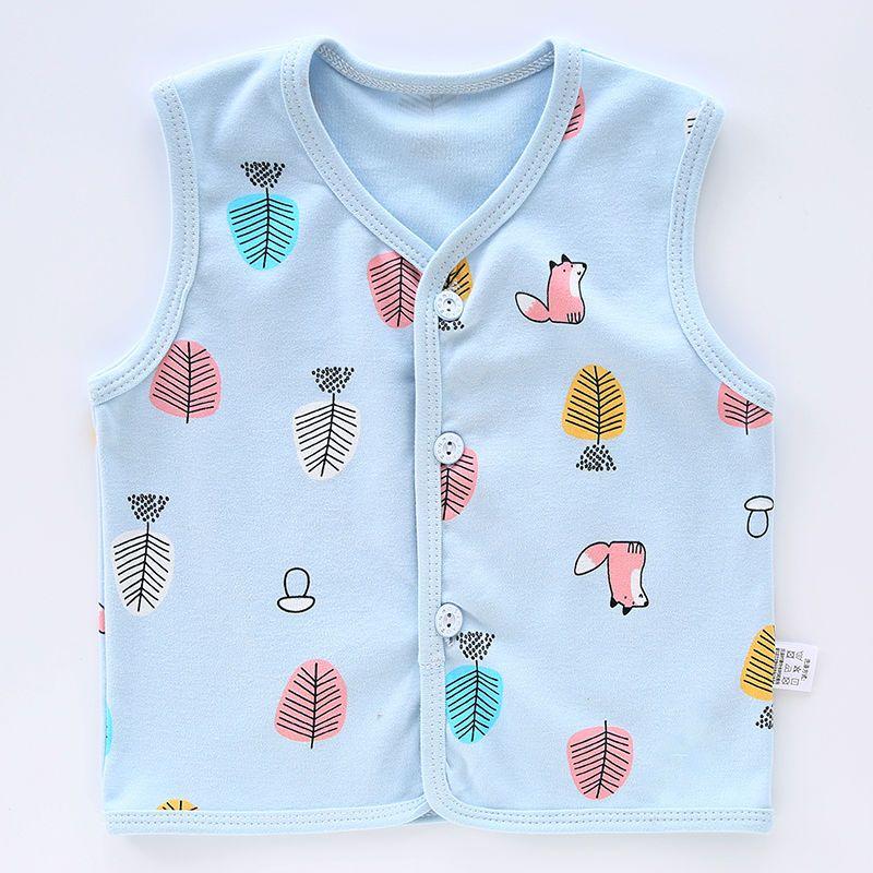 婴儿马甲春秋薄款纯棉小宝宝新生婴幼儿儿童男童女童夏季背心外穿