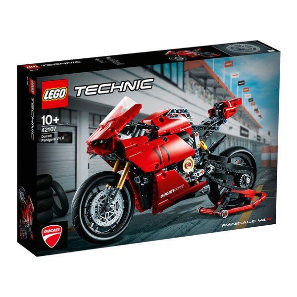 LEGO 乐高 42107科技系列 杜卡迪V4R摩托 正品益智玩具礼物