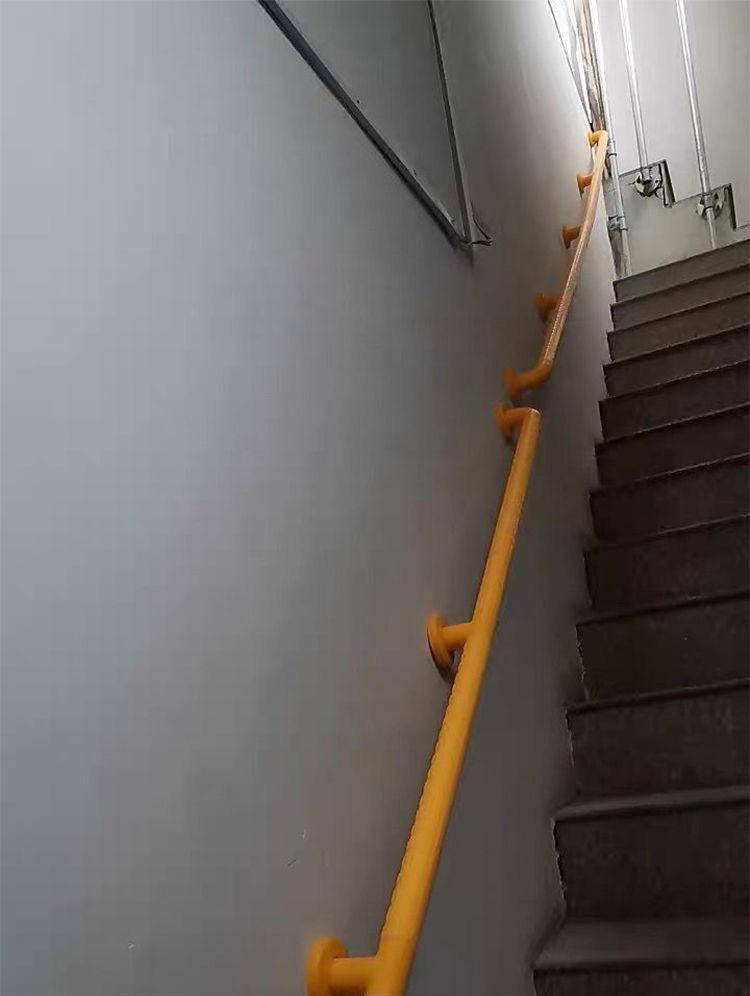 【優選精品】台灣熱賣樓梯扶手 養老院走廊醫院樓道無障礙安全扶手 抗菌尼龍不銹鋼欄桿
