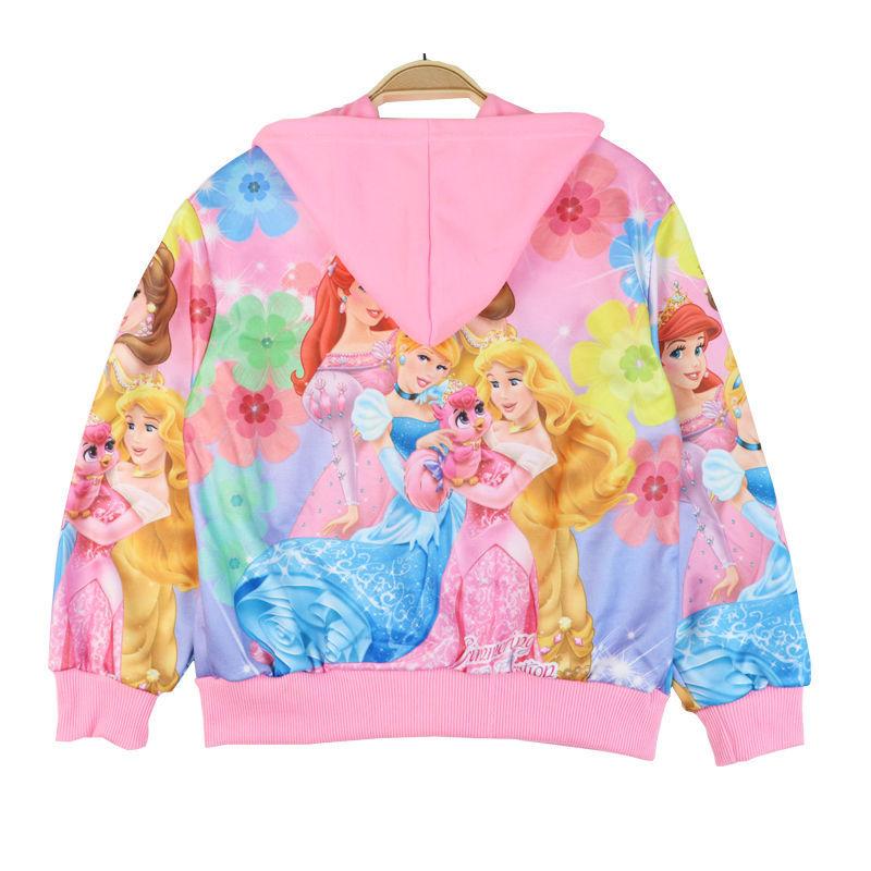 75863-女童秋装儿童外套2021新款春秋童装女孩卫衣宝宝夹克冰雪奇缘爱莎-详情图