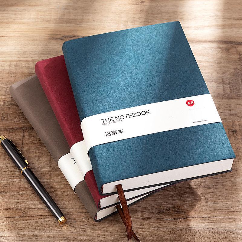 厚实便携,随身记录不怕忘:192页 法拉蒙 A6羊巴皮笔记本