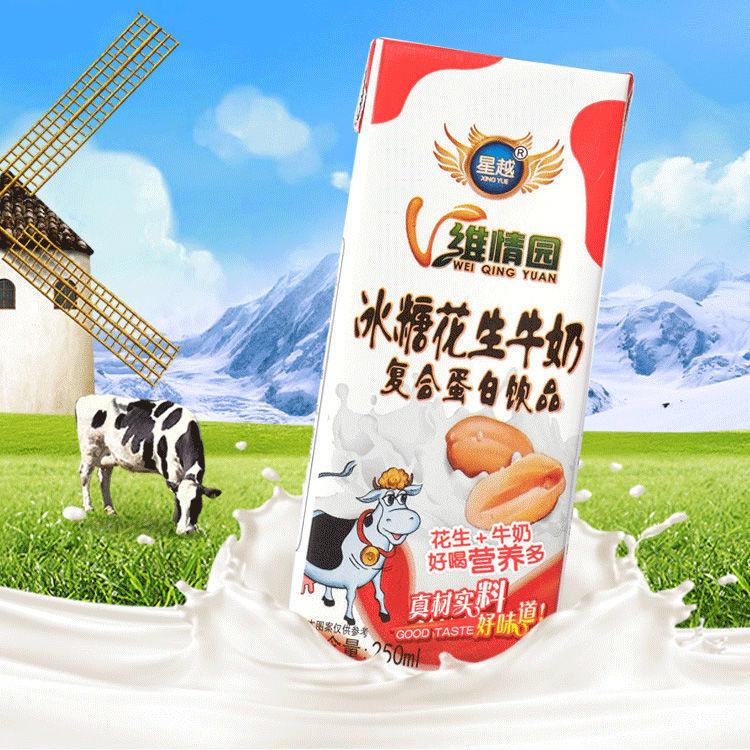 冰糖花生奶250mL六盒营养好喝