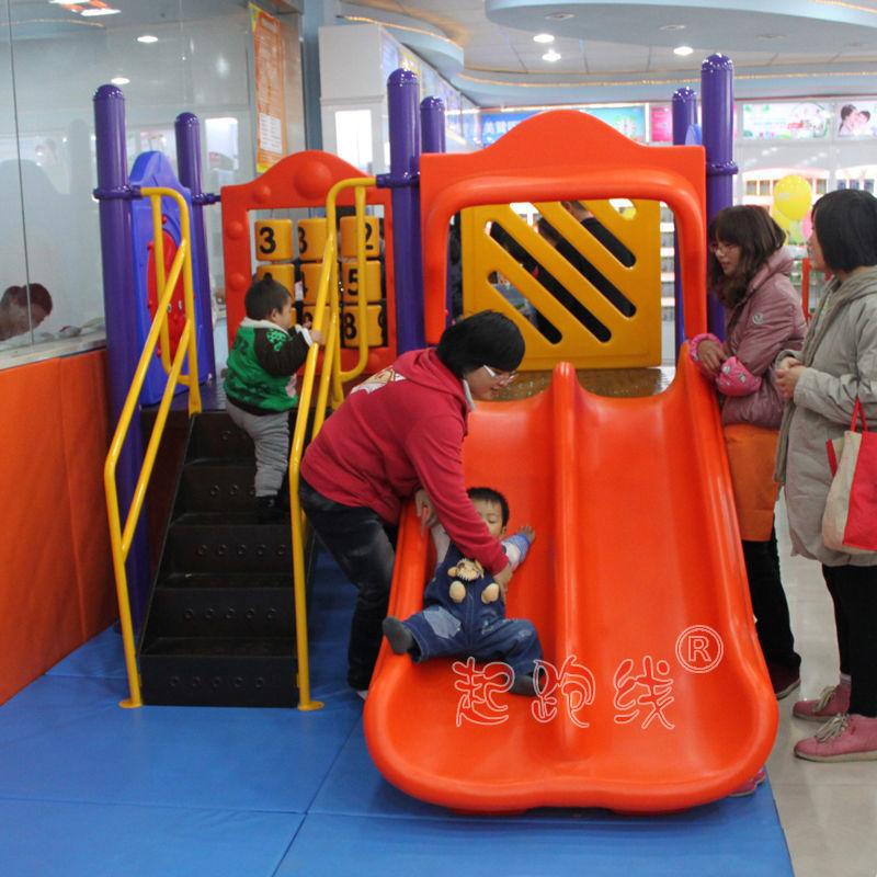 肯德基麦当劳汉堡店儿童室内游乐区汽车4S店早教小博士滑梯玩具