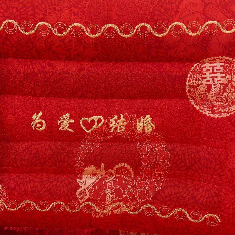 75822-32度婚庆枕头大红决明子枕芯一对装保健护颈双人结婚用-详情图