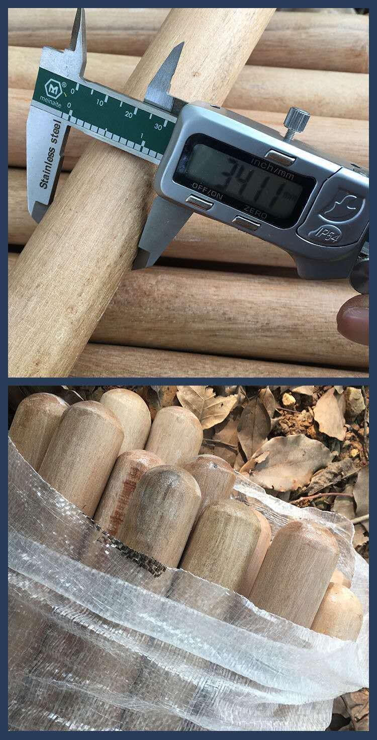 【寶島國際購】鋤頭把鐵鍬把實木洋槐木鐵鍬柄鐵锨把洋鎬把鐵鏟把農具木柄耙子棒[配件]