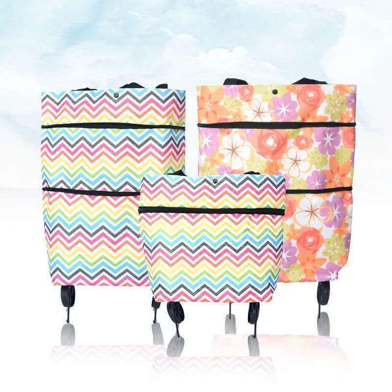 购物车袋便携式可折叠手拉车