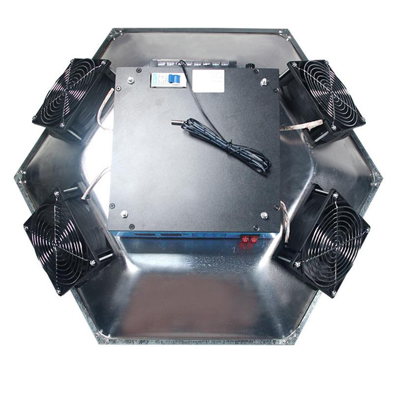 全自动新款育雏红外线保温器保温伞养殖加温鸡苗脱温设备取暖设备