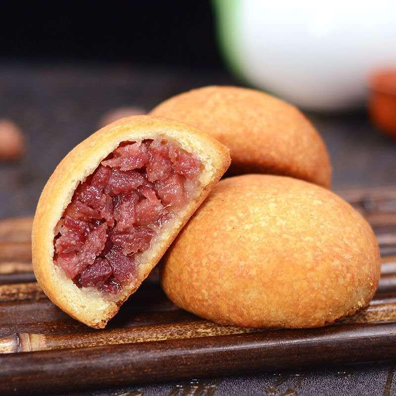 【滇式月饼】中秋礼盒云腿月饼云南特产零食小吃传统糕点心800g
