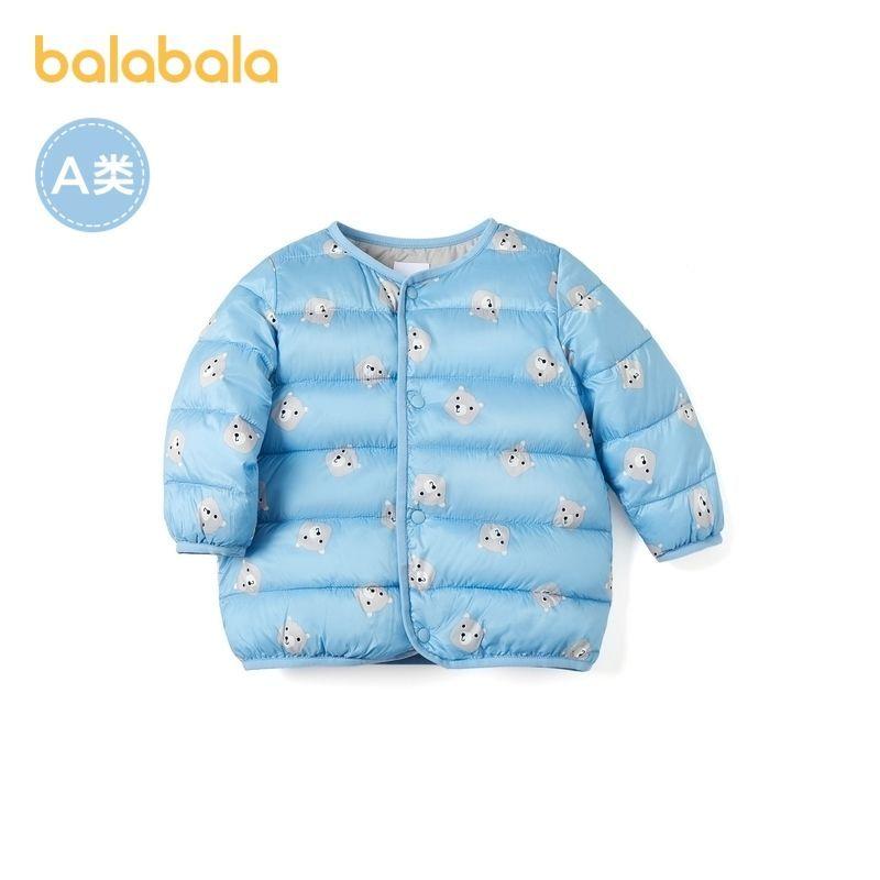 88902-巴拉巴拉宝宝冬季棉袄儿童棉服婴儿棉衣加厚冬装2021新款保暖童趣-详情图
