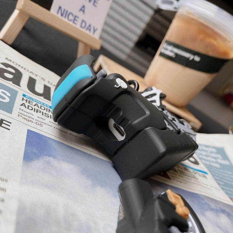 免運 摩托車IMDairpods保護套pro硅膠軟殼蘋果2/3代無線耳機套潮牌