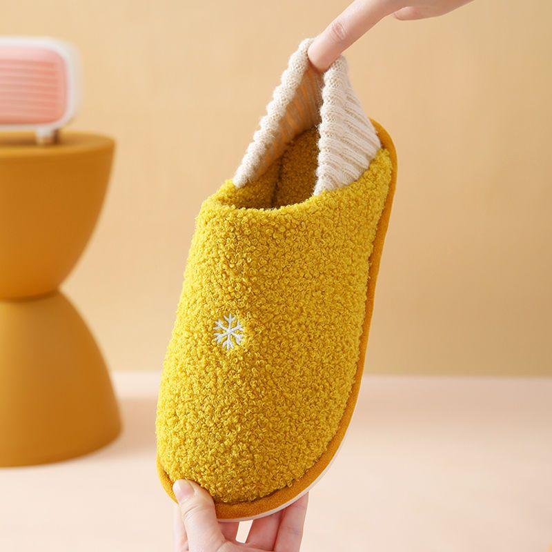 棉拖鞋女秋冬季室内家用包跟保暖家居防滑月子鞋产后11月份12棉鞋