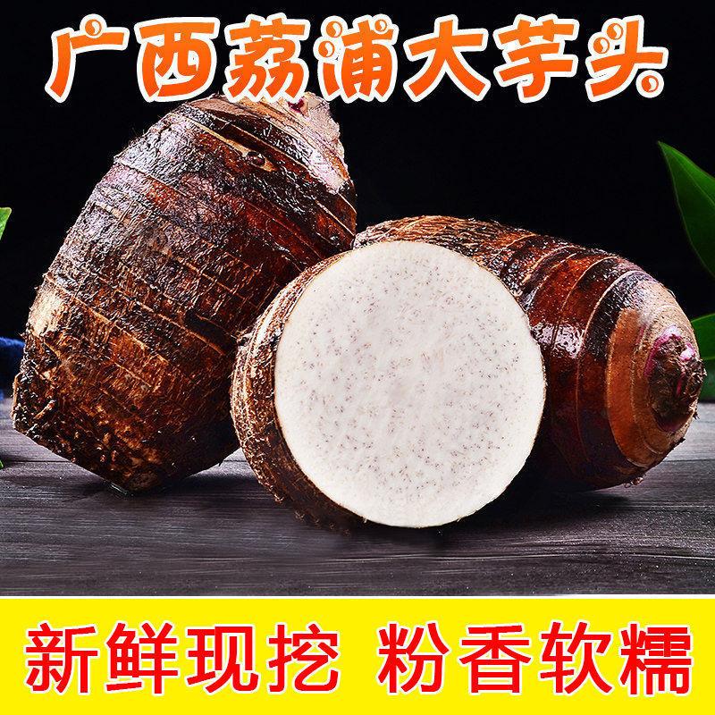 广西荔浦芋头1/9斤新鲜槟榔芋香芋农家蔬菜现挖大芋头粉糯非毛芋