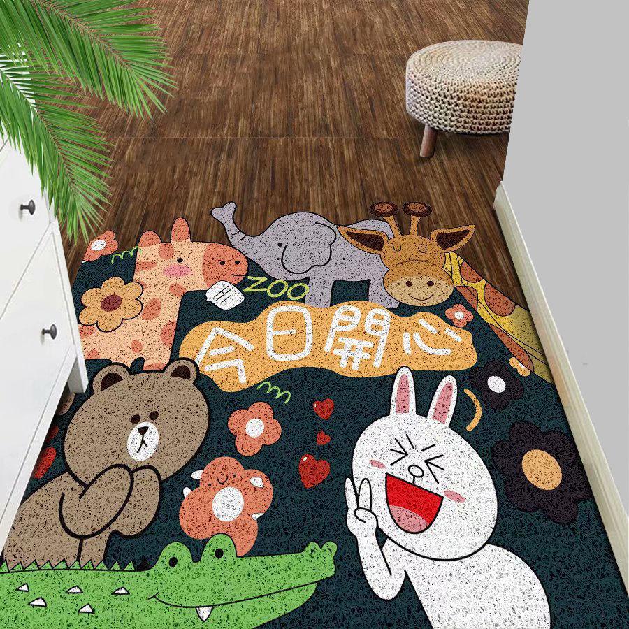 卡通进门地垫门垫地毯卧室门口地垫卫生间浴室防滑垫家用吸水脚垫