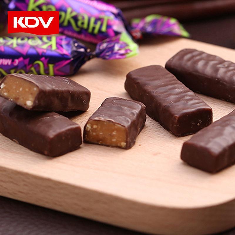 88733-KDV俄罗斯进口紫皮糖180g巧克力夹心礼物喜糖果零食批发年货节-详情图